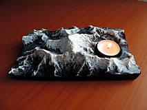 Svietidlá a sviečky - Svietnik MOUNT EVEREST - 13008261_