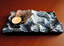 Svietidlá a sviečky - Svietnik MOUNT EVEREST - 13008262_
