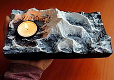 Svietidlá a sviečky - Svietnik MOUNT EVEREST - 13008273_