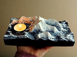 Svietidlá a sviečky - Svietnik MOUNT EVEREST - 13008280_