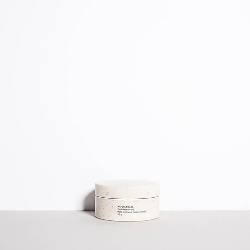 Drogéria - Tuhý dezodorant s mätou, fialkou a mentolom MÄTOVÁ FIALKA - 13007538_
