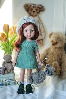 Hračky - Bábika Paola Reina v šatach a s mackom - 13007171_