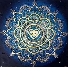 Obrazy - Mandala Polnočná hviezda - 13009034_