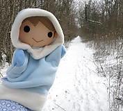 Hračky - Maňuška mesiac Január (Rozprávka o dvanástich mesiačikoch) - 13006894_