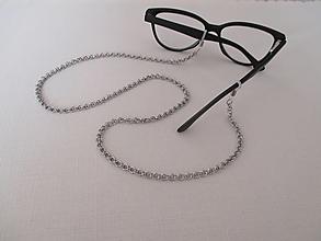 Doplnky - Retiazka na okuliare - bez dekorácie - chirurgická oceľ - 13006148_