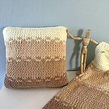 Úžitkový textil - štvorfarebný vankúš : z Puffy Fine - 13007987_