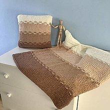 Textil - štvorfarebná deka : z Puffy Fine - 13008028_