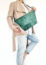 Kabelky - EMERALD bag kožená - 13006452_