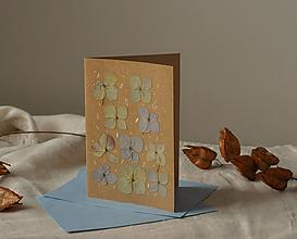 Papiernictvo - Pohľadnica - hortenzia - 13009685_