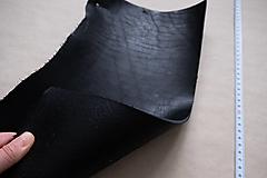 Suroviny - Zbytková hladenica čierna 4mm - 13008993_