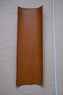 Suroviny - Zbytková hladenica karamelová svetlá 2–2,5 mm (väčšie kusy) - POSLEDNÝ KUS (kus č. 2) - 13008878_