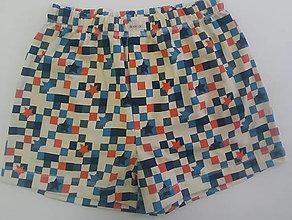 Detské oblečenie - Hviezdne chlapčenské trenky biobavlna - 13006011_