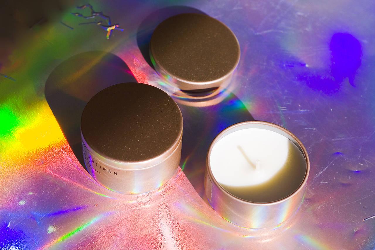 Svietidlá a sviečky - LIMITOVANÁ EDÍCIA - Sojová sviečka - Medovka indická citronela - 13007934_