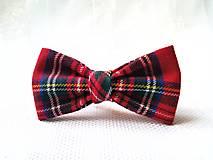 Ozdoby do vlasov - Kráľovská škótska sponka do vlasov - 13010548_