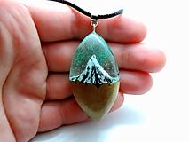 Náhrdelníky - Živicový náhrdelník - Hory 5 - 13010740_