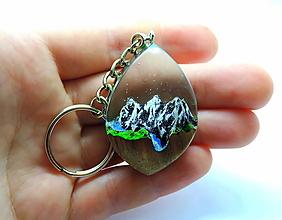 Kľúčenky - Živicová kľúčenka - Hory - 13010792_