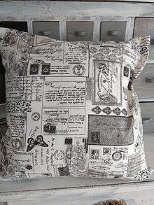 Úžitkový textil - Vankúš poštový - 13011528_