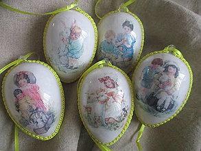 Dekorácie - Veľkonočné vajíčka - 13013624_
