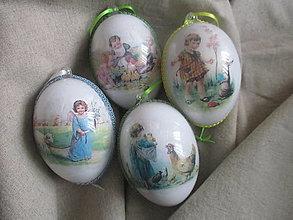 Dekorácie - Veľkonočné vajíčka - 13013686_