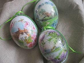 Dekorácie - Veľkonočné vajíčka - 13013716_