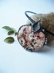 Náhrdelníky - Amulet - Jaspis leopardí - 13012572_