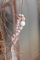 Náramky - Náramok - Biele zlatíčko - 13013227_