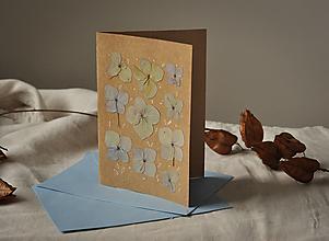 Papiernictvo - Pohľadnica - hortenzia - 13010588_