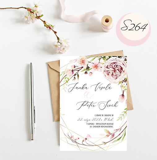 svadobné oznámenie 264