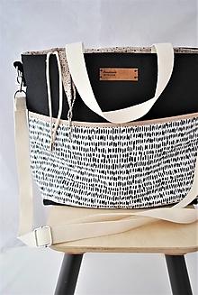 Veľké tašky - Taška so sťahovaním na šnúrku PETRA - 13013964_