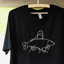 Tričká - Tričko pre rybára - kapor - 13011571_