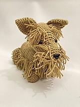 Hračky - pes/psík Bradáč - 13013443_
