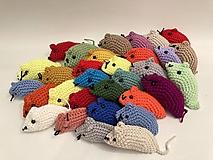Hračky - Malá myška  /Darček k objednávke/ - 13013486_