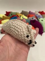 Hračky - Malá myška  /Darček k objednávke/ - 13013489_