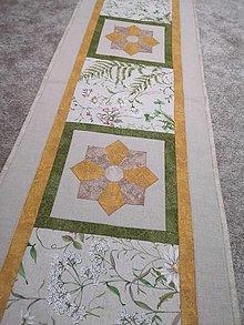 Úžitkový textil - Obrus lúčne kvety - 13017808_