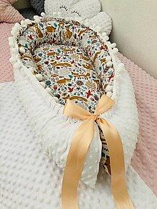 Detské doplnky - Hniezdo pre bábätko - líška - 13014655_