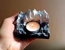 Svietidlá a sviečky - Svietnik HORY malý - 13015081_