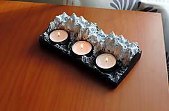 Svietidlá a sviečky - Svietnik HORY veľký - 13015099_