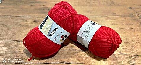 Galantéria - Yetti (52180 - červená) - 13016506_