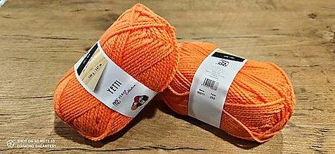 Galantéria - Yetti (50011 - oranžová) - 13016508_