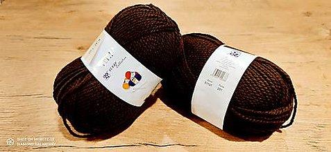 Galantéria - Yetti (51191 - tmavá čokoládová) - 13016510_