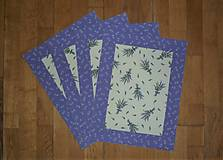 Úžitkový textil - Prestieranie levanduľové - 13018330_