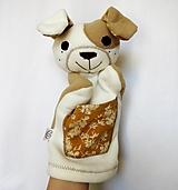 Hračky - Maňuška psík - Havko pehavý od Horčicového záhonu - 13018064_