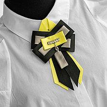 Odznaky/Brošne - Exkluzívna brošňa CHANTAL - 13017475_