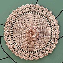 "Úžitkový textil - Čipka ""Rosa"" - 13018162_"
