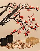 Obrazy - Obraz SAKURA Japonská čerešňa akryl na plátne 50 X 50 cm - 13014898_