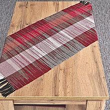 Úžitkový textil - RUČNĚ TKANÝ OBRUS - ŠTOLA - PRESTIERANIE 4 - 13014597_