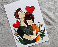 Grafika - Pravá láska - 13015225_