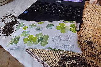 Úžitkový textil - pre šťastie-pohánková podložka k počítaču - 13019088_