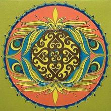 Obrazy - Mandala Pre Jedinečnú Bytosť - 13023599_