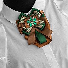 Odznaky/Brošne - Exkluzívna brošňa DARIA - 13021279_